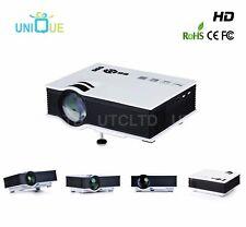 UC40+ Mini Portable 1080P 800×480 HD LED Projector Home Theater VGA SD USB HDMI