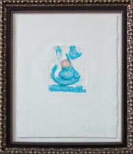Claes OLDENBURG Etching HAND Signed Original & Numbered LIMITED Ed.3/60 +FRAMING