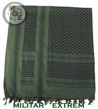 Mfh estilo del Ejército Shemagh 115 X 110 CMS verde y negro 16503b airsoft Cadet