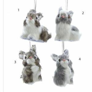 Plush Bunny Ornament