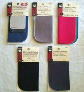2-Packs Dritz Iron-on Patches ( Choose MSN Colors )   - Free Shipping