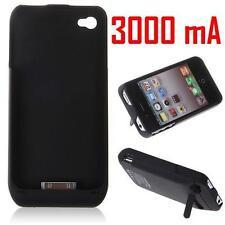 ★★★ 3000mAh Coque Chargeur BATTERIE Intégrée ★ Pour APPLE iPhone 4G et 4S