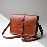 2016 Women Bag Lady Retro PU Leather Crossbody Small Bag Handbag Shoulder Bag