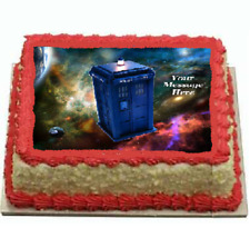 Dr Who cake topper edible icing image #832