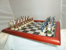 ITALFAMA AB003 SAMURAI JAPAN JAPANESE CHESS SET GAME WITH WOOD BOARD