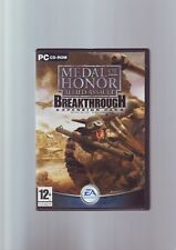 MEDAL OF HONOR ALLIED ASSAULT: BREAKTHROUGH EXPANSION PACK - ORIGINAL & COMPLETE