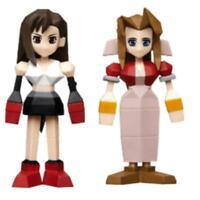 Square Enix Final Fantasy VII 7 Versión Kuji G Minifigura Aerith Tifa Set Japón