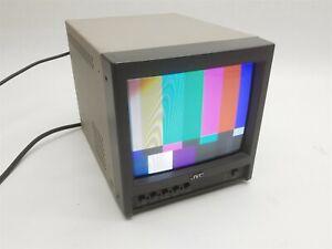 "JVC TM-A9U 9"" NTSC Color CRT Video Monitor Retro AC 120V .66A 60Hz Made in Japan"