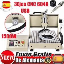 3Ejes USB CNC Router 6040 MáQuina De Grabado Cortador 1500W Cutter Woodworking