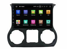 "Autoradio 10"" Android 9.1 JEEP WRANGLER 2011-2018 Navigatore 2gb 32gb GPS USB"