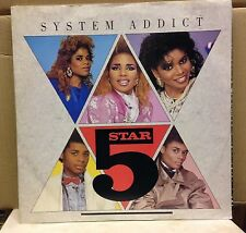 "FIVE STAR System Addict 1985  UK 12"" vinyl single EXCELLENT CONDITION 5"