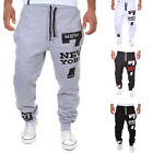 Mens Sweatpants Harem Pants Slacks Casual Jogger Dance Sportwear Baggy