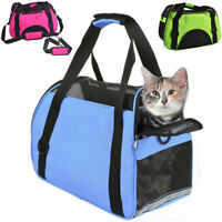 Large Pet Carrier Soft Sided Cat/Dog Comfort Travel Bag Oxford Airline Approved