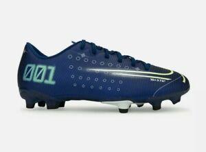 Nike Kids Size 13.5C Mercurial Jr Vapor 13 Academy Firm Ground Soccer Cleats NEW