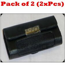 "2x Horizontal Belt Clip Pouch Case Cover Holster For 4.5""x2.25"" Bar Flip Phone"