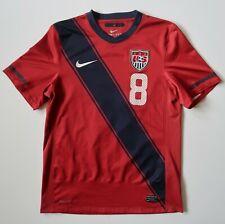 USMNT 2010-2012 Nike USA Soccer Third Red Home Jersey Shirt Kit SMALL DEMPSEY