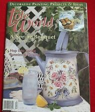 Tole World Magazine ~ Decorative Painting ~ April 1995