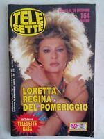 telesette 51 1987 goggi berenger cuccarini laurito masina rourke de niro daniere