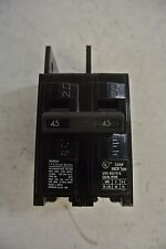 Siemens 2 Pole 45 Amp 240 Volt type BQ Circuit Breaker Cat: BQ2B045