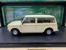 Cult 1/18 Scale Resin Model Car Mini Clubman Estate HL White New in Box