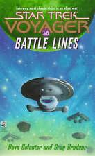 Star Trek: Voyager - Battle Lines by Dave Galanter & Greg Brodeur (Paperback)