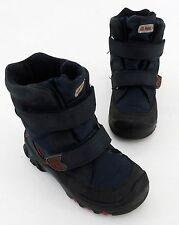 Elefanten Baby-Schuhe für Jungen aus Leder mit medium Breite