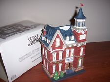 "Dept 56 ""Brighton School"" Christmas in the City, Nib"