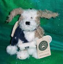 New ListingNew 2000 Retired Boyds Bear Christmas Biscuit B. Beggar Angel Dog Ornament Plush