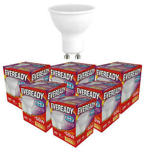 Eveready LED GU10 3w =35w / 5w =50w 3000k (Warm) 6500k (Daylight) Spotlight Bulb