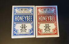 Penguin Magic Honeybee Elite 2 Deck Set Red & Blue Playing Cards USPCC  Sealed