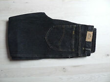 Jeans Vintage 1990er Anvil Brand schwarz Fade Out Size 33-32 W33 L32