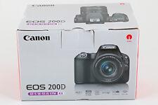 Canon EOS 200D Kit + EF-S 18-55 mm 1:4-5,6 IS STM WLAN NEU OVP Deutsche Ware