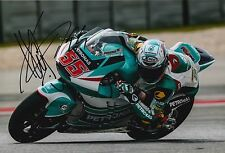 Hafizh Syahrin Hand Signed 12x8 Photo Petronas Kalex Moto2 2016 MOTOGP.