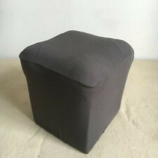 Jacquard Stretch Ottoman Cover Footstool Protector Floral Elastic 40*40*40cm