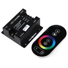 LED RF Controller Touch Screen Dimmable Remote Wireless For Led RGB Module Strip