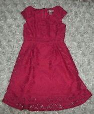 Dress Sleeveless All season sz 6x Coral pink xhilaration Polyester Everyday Dres
