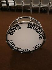 More details for boys' brigade marching band bass drum