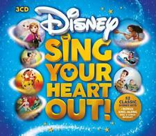 DISNEY SING YOUR HEART OUT 3 CD VARIOUS ARTISTS - NEW RELEASE OCTOBER 2018