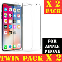 100% NEW PREMIUM TEMPERED GLASS-SCREEN PROTECTOR FOR APPLE PHONE 5C,SE,6,7,8+,X