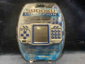Electronic Sudoku Champion Handheld Game Ages 8+ Brand NEW Sealed