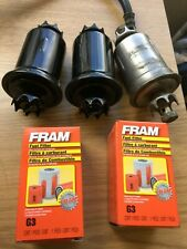 FRAM G3 in-Line Fuel Filter Starion Conquest TSi &OE Bracket LOT+3 underhood SQC