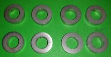8x Stainless Spacer Extra Thick 5mm Washer M10 3/8 Manifold Rover Ford Chevy V8