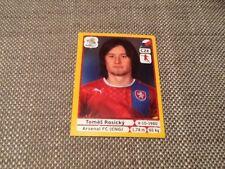 #155 Tomas Rosicky Czech Rep Panini Euro 2012 PLATINUM EDITION sticker Arsenal
