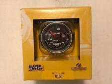 Hg//30 PSI Full Sweep Electric Vacuum//Boost Gauge Auto Meter 4959 Ultra-Lite II 2-1//16 30 in