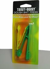 Troutberry Dough Bait Press in two sizes for Dough or Power Baits