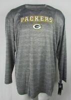 Green Bay Packers Men's Coolbase Performance LS Shirt XLT-6XL NFL