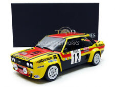 TOP MARQUES Fiat 131 Abarth Monte Carlo 1980 Mouton/Annie  #12 1/18 New!