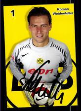 Roman Weidenfeller Autogrammkarte Borussia Dortmund 2005-06 Original Si+A 118176
