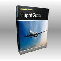 GIFT ITEM - FlightGear Flight Simulator for Microsoft Win PC & Mac OS X Computer