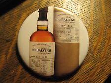 The Balvenie Scotch Whisky Scotland Bottle Advertisement Pocket Lipstick Mirror